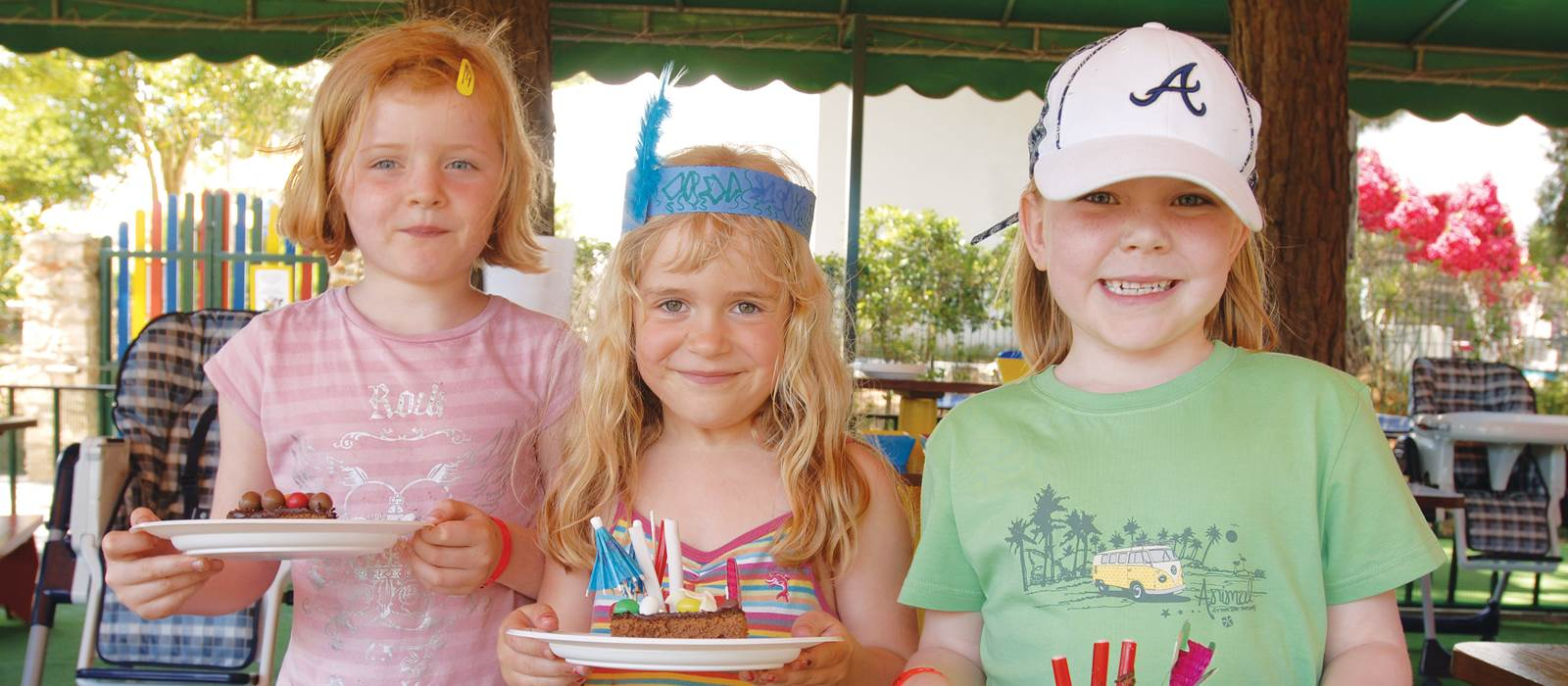 Three Friends at the Kangaroo Kids Club at Penina Hotel and Golf Resort
