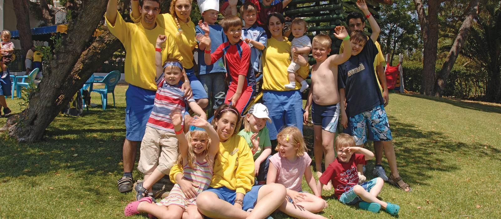Outdoor Group at the Kangaroo Kids Club at Penina Hotel and Golf Resort