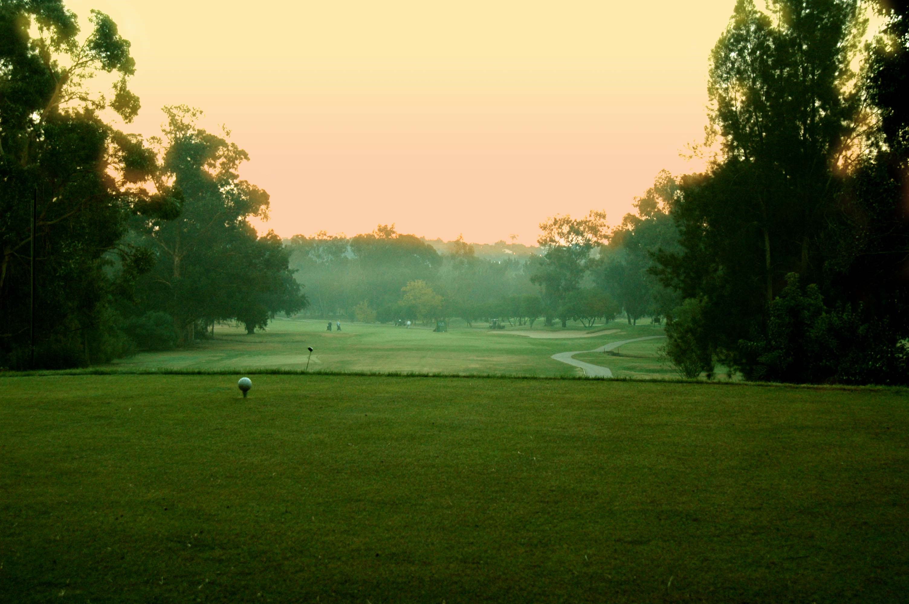 Sunset at the Sir Henry Cotton Championship Course at Penina Hotel and Golf Resort