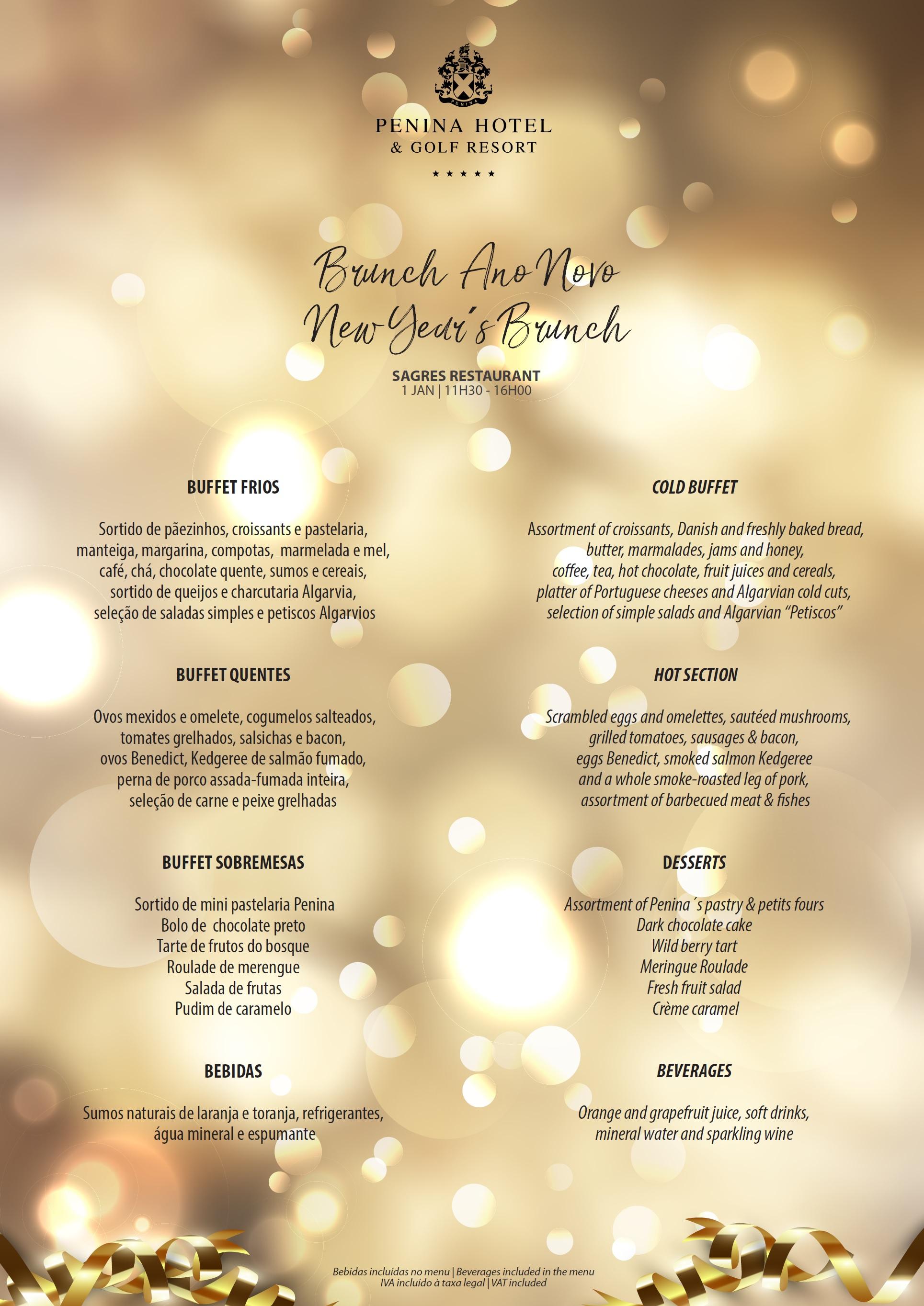 brunch menu here - Simple Christmas Menu